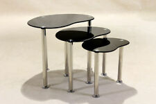 Oval Nested Tables with Flat Pack