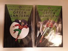 DC Archives Editions. Golden Age Green Lantern, Both Volumes I & II. Very Good.