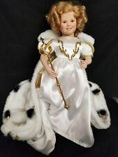 """1990 Danbury Mint Shirley Temple """"Little Princess"""" Porcelain Doll"""