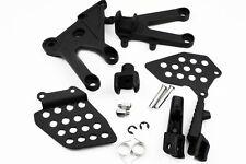 For Honda CBR600RR 03-06  04 05 Black Front Rider Foot Pegs Bracket