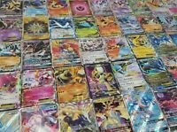 Pokemon 100 Official TCG Cards Lot with Ultra Rare Included - GX EX MEGA + HOLOS