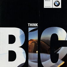 BMW Motorräder Motorrad Prospekt 2001 Saisonstart brochure C1 R1150RT F650GS u.a