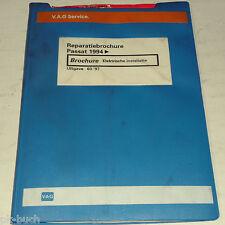 Reparatiebrochure Werkplaatshandboek VW Passat B 4 Elektrische installatie ab 94