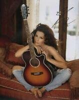 Shania Twain   **HAND SIGNED**  14x11 photo ~  AUTOGRAPHED
