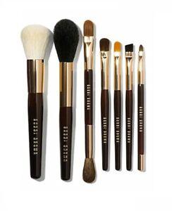 BOBBI BROWN 7 Piece Essential Limited Editition Travel Sz Brush Set 100% Authent