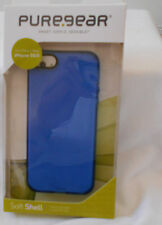 iPhone 5/5S PureGear Soft Shell Case - BLUE - New in Package