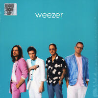 "Weezer Teal Album Cover Hits 12"" LP Green Vinyl RSD 2019 new sealed"