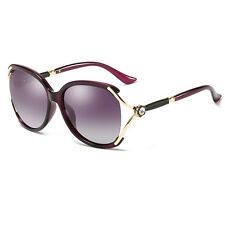 New Womens Ladies Designer Polarized UV400 Sunglasses Oversized Driving Eyewear
