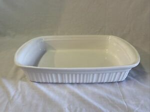 12.25x10.5x2.5 Pink Hearts Natural Off-White Corning FOREVER YOURS A-21-B-N Lasagna Baking Dish Pan