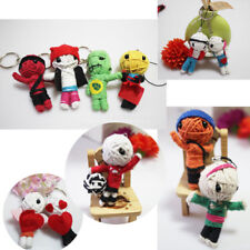 Voodoo Doll Key Ring Keychain Keyring Cute Phone Strap Hanging Charm High Sales