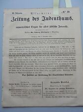 1861 49 Sabbat Sabbatfeier Cottbus