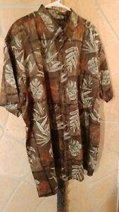 Men's Harbor Bay Short Sleeve Dress Shirt - Size 2X