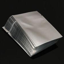 100 X Aluminum Foil Mylar Bag Vacuum Sealer Food Storage Package Pouch 5 Size