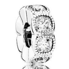 PANDORA Spacer Element 792027 CZ Silber Beads