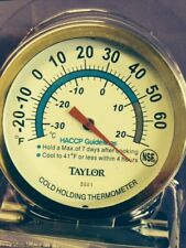 TAYLOR THERMOMETER 5981 COMMERCIAL COLD HOLD THRMTR  HANG OR STAND UP