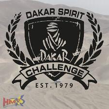 HM© -  Rallye Dakar Auto Aufkleber Edition - 1 Stück - 32 x 26 cm - AG-0058