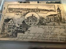 Unterjettingen Litho 1899