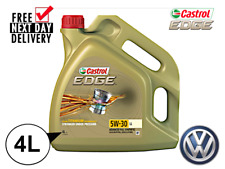 CASTROL EDGE 5W-30 4L LL03 Engine Oil **WAREHOUSE CLEARANCE**VW504/50700**15668E
