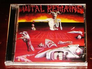 Vital Remains: Let Us Pray CD 2004 Reissue Peaceville Records EU CDVILED121 NEW
