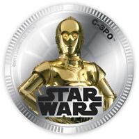 C-3PO Münze Niue 2011 1$ coin