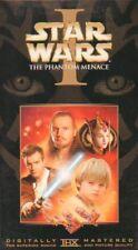 Star Wars Episode I: The Phantom Menace (1999) movie program plus VHS!