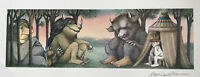 MAURICE SENDAK ~ WHERE THE WILD THINGS ARE, ORIGINAL SIGNED POSTER