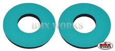 ProBMX Flite Style Old School BMX Grip Donuts - Pairs - Teal