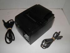 Star Tsp100ii Thermal Pos Receipt Printer Usb 143iiu W Power Cord Amp Usb Cable
