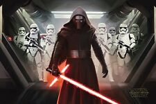 Star Wars Episode 7 (VII) Kylo Ren and Stormtroopers PP33658 - Poster -Brand New