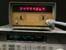 Hp 5382a Frequency Counter 225mhz Good Working Condition
