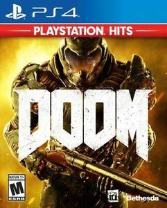 PS4 DOOM: Playstation Hits [Brand New] free shipping