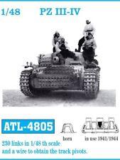 1/48 FRIULMODEL ATL-4805 METAL TRACKS for GERMAN PANZER III & IV & StuG III