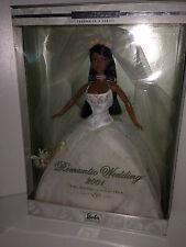 BARBIE Collector ROMANTIC WEDDING 2001 African American NRFB