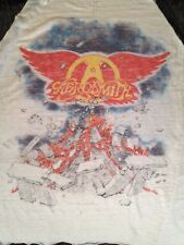 REAL VINTAGE 1982 AEROSMITH ROCK IN A HARD PLACE TOUR T-SHIRT, SLEEVELESS, THIN