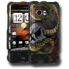 HTC DROID Incredible PB31200 Snake & Skull Case Cover