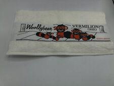 Woolybear Vermillion, Ohio 2002 Souvenir Towel 2000 Dick Goddard