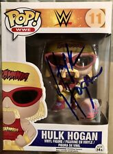 WWE Unsigned & Signed Autographed Funko Pop Lot (9 Total)