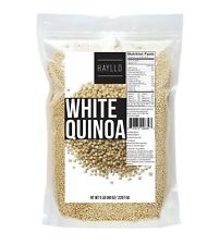 5 Lb Premium Peru Royal White Quinoa Seeds In Resealable Bag 1-3 Days Delivery