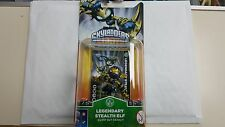 Skylanders Giants Rare Figure - Legendary Stealth Elf - Brand New & Sealed