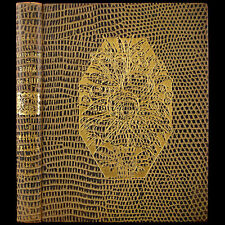 1930 RENE KIEFFER LEATHER FINE BINDING RARE POCHOIR ILLUSTRATED MAUPASSANT PARIS