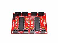 Dual L293D Mini Motor Shield Expansion Module PCB For PIC Raspberry Pi & Arduino