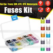 120pcs Mini Blade Fuse Assortment Auto Car Motorcycle SUV FUSES Kit APM ATM USA