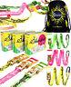 Barefoot Slackline- 15m Balance Slackline Set - Booklet & Travel Bag / Tightwire