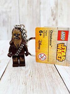 BNWT Lego Star Wars Chewbacca Minifigure Keyring 853451 Key Chain