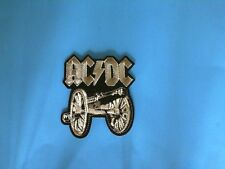 AC/DC CANNON IRON ON PATCH NEW USA SELLER AXL ROSE GUNS N ROSES METALLICA