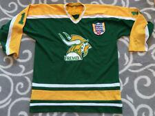 Chicago Metropolitan High School Hockey League Vikings Sports Jersey Size XL