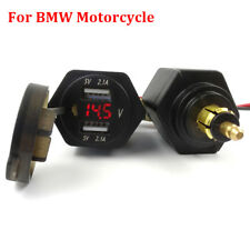 Motorcycle 2 USB Adapter Voltmeter For BMW F800GS F650GS F700GS R1200GS R1200RT