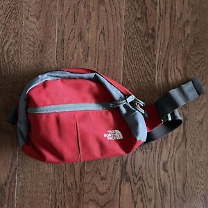 The North Face Roo II Red Lumbar Hiking Camping Fanny Hip Pack