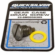 """Mariner Gear Case Magnetic Oil Drain Screw 3/8"""" Outboard Engines - 22-8M0058389"""