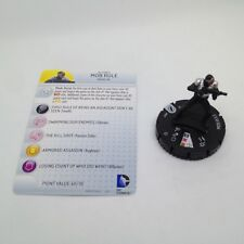 Heroclix The Flash set Mob Rule #009 Common figure w/card!